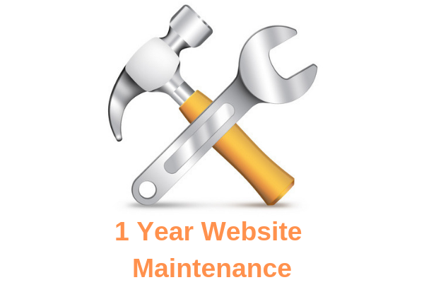 1 Year Website Maintenance